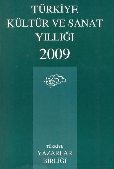 TYB Kitapları 36: 2009 yılı Kültür ve Sanat Yıllığı
