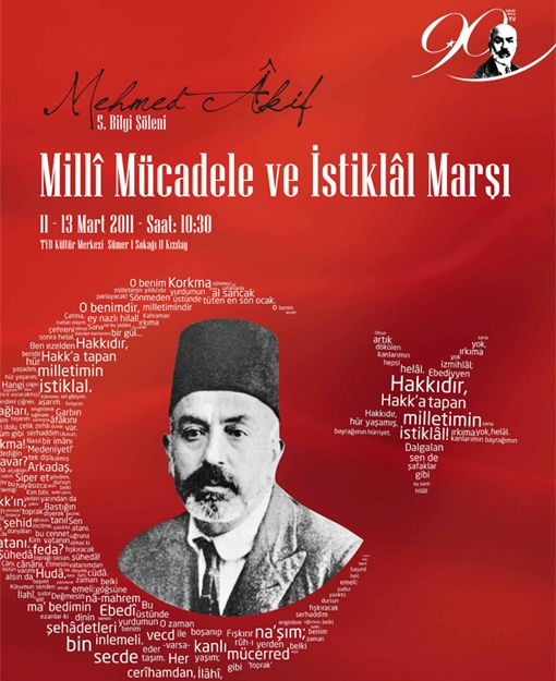 Türkiye Yazarlar Birliği'nden Mehmet Âkif Yılında Üç Günlük Bilgi Şöleni