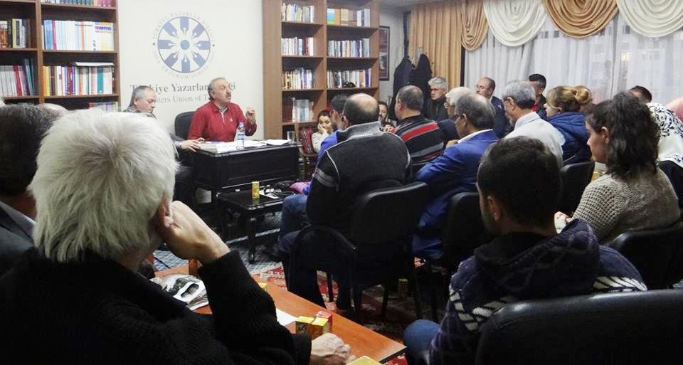 Erzurum Şubesi'nin 2016-2017 dönemi ilk konuğu Erdal Güzel oldu!