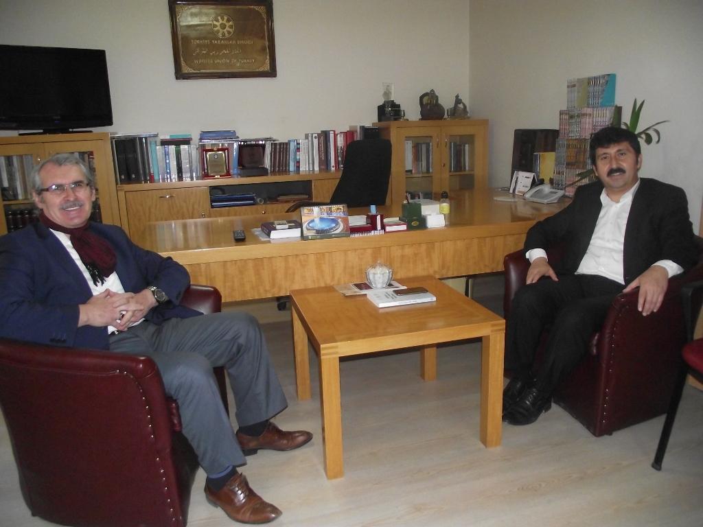 Prof. Dr. Muammer Esen'den Genel Başkan Arıcan'ı ziyaret