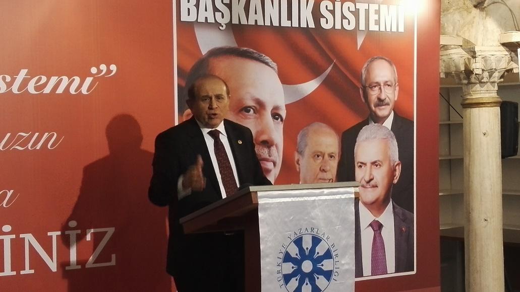 TYB İstanbul'da Başkanlık Sistemi Tartışıldı