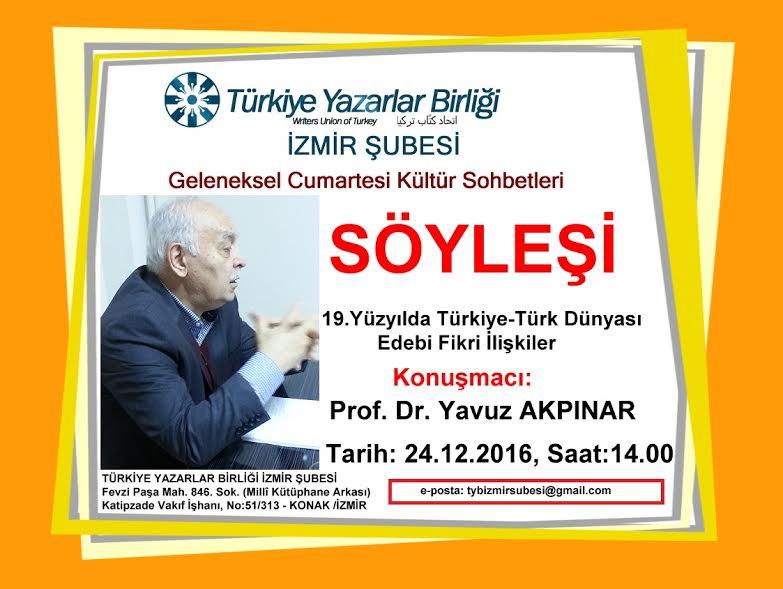 19. Yüzyılda Türkiye-Türk Dünyası Edebi Fikri İlişkiler