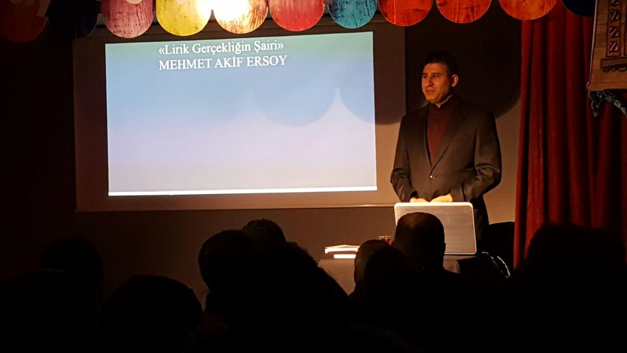 Kırşehir Temsilciliği'nde Mehmet Akif Ersoy anıldı
