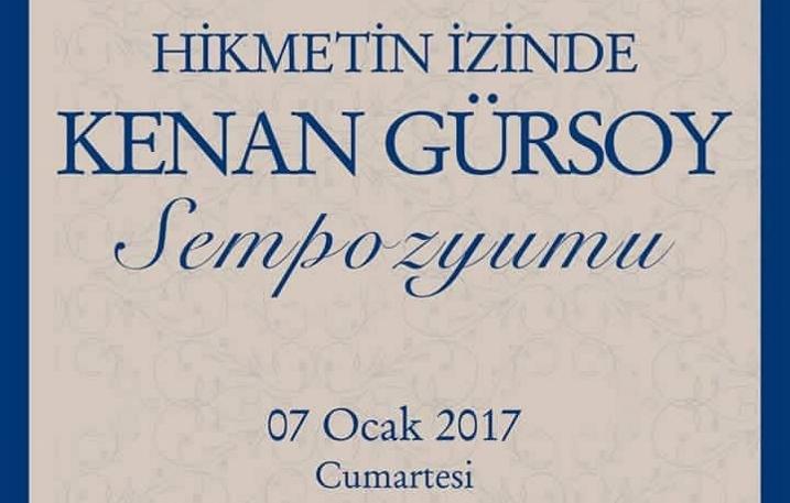Hikmetin İzinde Prof. Dr. Kenan Gürsoy Sempozyumu