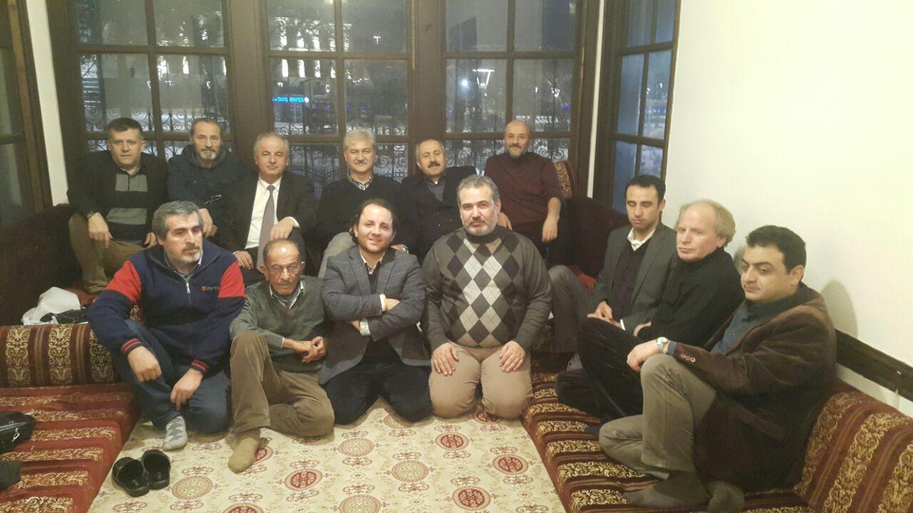 Konya Şubesi Yönetim Kurulu Üyeleri faaliyet takvimi için toplandı