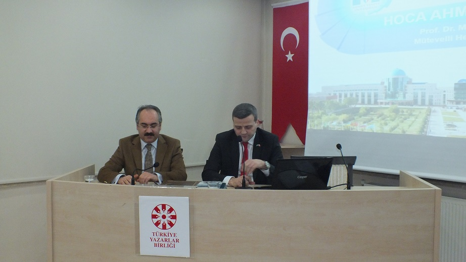 Prof. Dr. Musa Yıldız Ahmet Yesevi'yi anlattı.