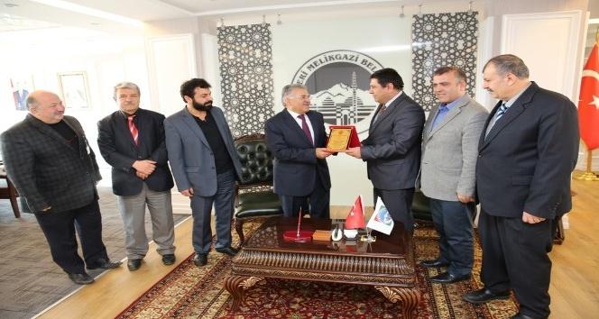 Kayseri Şubesinden Melikgazi Belediye Başkanı Büyükkılıç'ı ziyaret