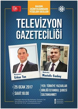 TYB İstanbul'da Televizyon Gazeteciliği Konuşulacak