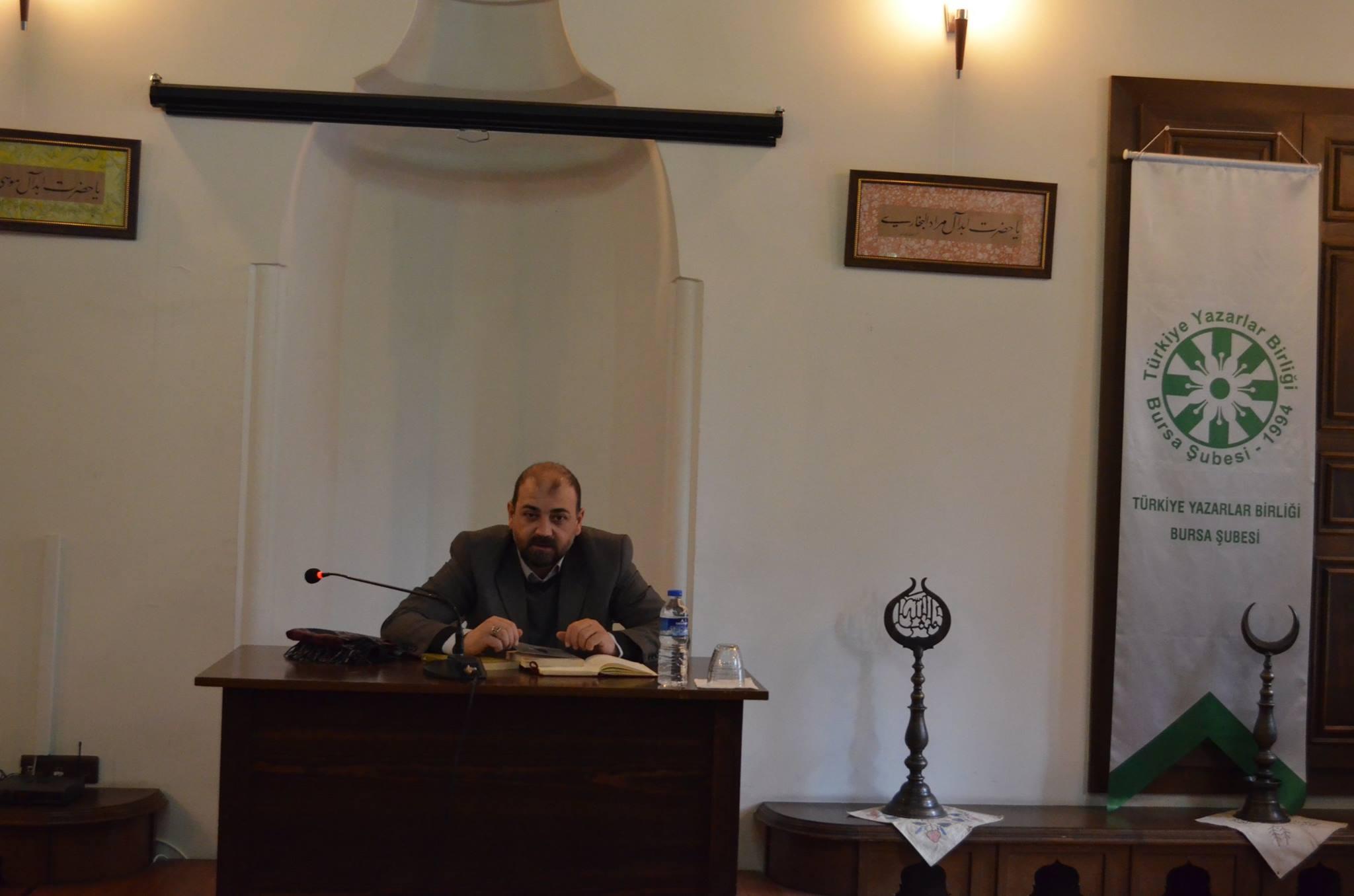 Bursa Şubesi Doç. Dr. Mehmet Fatih Birgül'ü Ağırladı