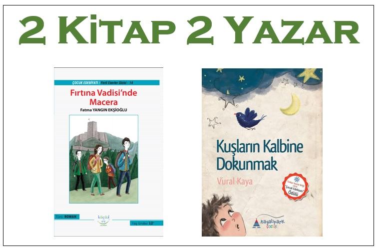 2 Kitap 2 Yazar Cumartesi 13.30'da
