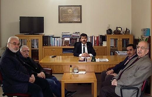 TYB Genel Başkanı Musa Kazım Arıcan'ı ziyaret