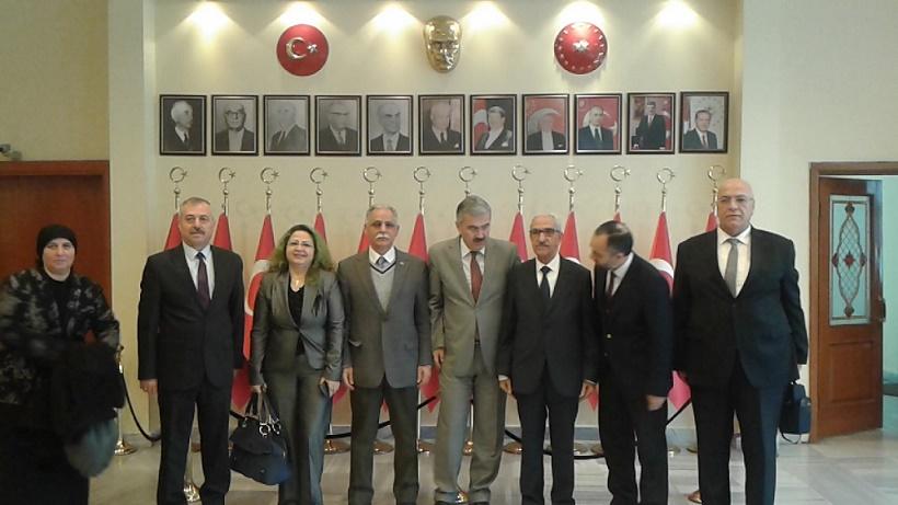 İzmir Valisi Erol Ayyıldız'ı ziyaret