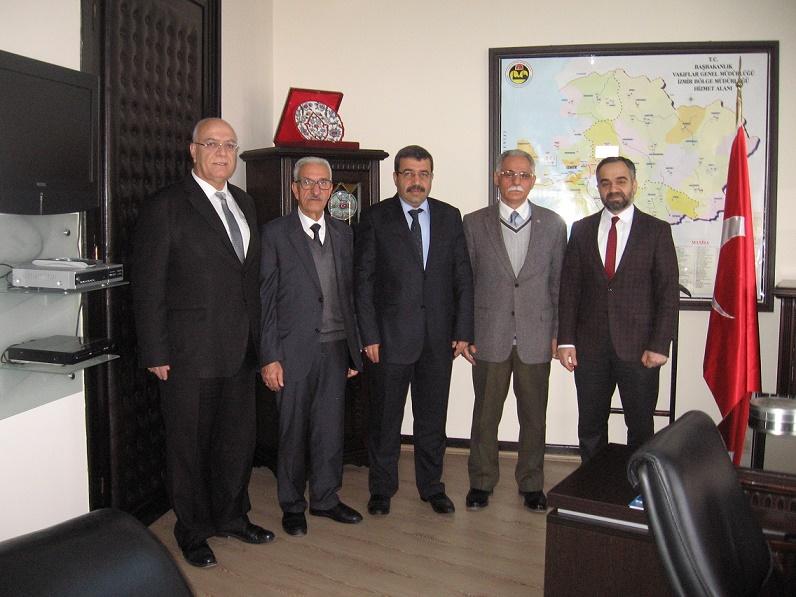 İzmir Vakıflar Bölge Müdürü Fethi Koç'u ziyaret