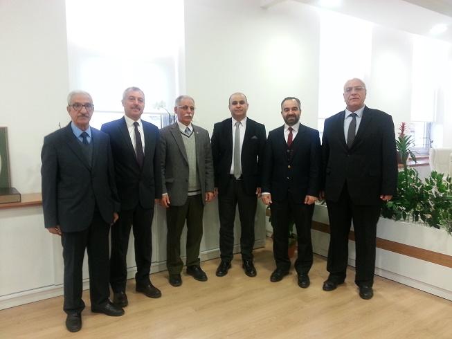 İzmir İl Milli Eğitim Müdürü Ömer Yahşi Ziyareti