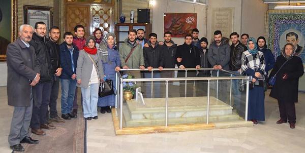 TYB Erzurum Şubesi Gençlik Kolları Tebriz'e Çıkarma Yaptı