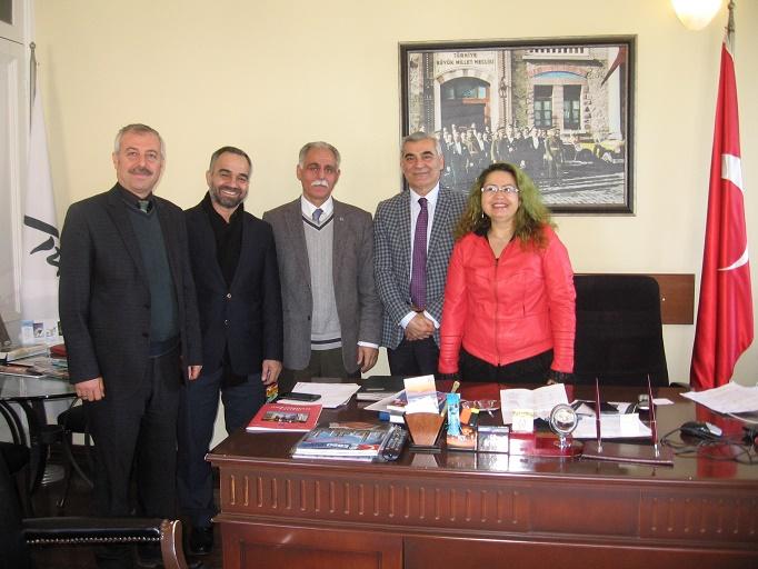 İzmir Şubesi, İl Kültür Turizm Müdürü Murat Karaçanta'yı ziyaret etti