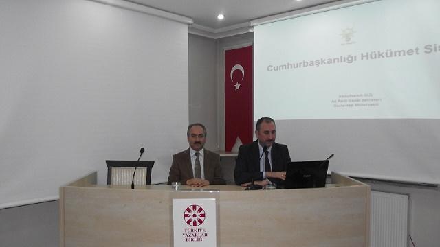 Abdülhamit Gül Cumhurbaşkanlığı Hükümet Sistemi üzerine konuştu