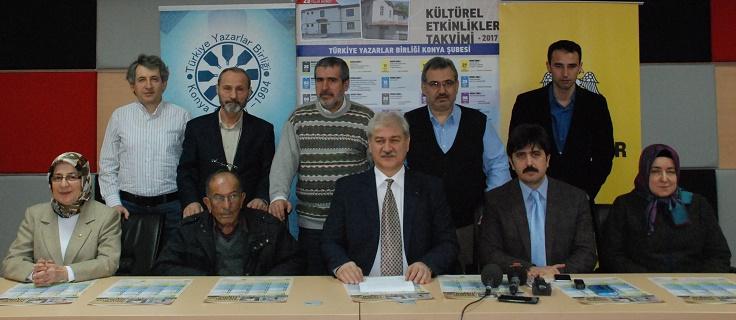 Konya Şubesi 2017 çalışmalarına başladı