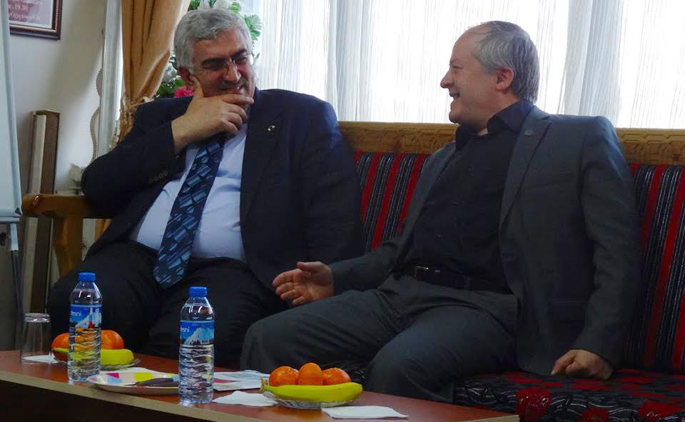 Ak Parti İl Başkanı Öz TYB Erzurum Şubesi'ni Ziyaret Etti