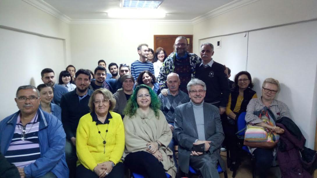 Prof. Dr. Nevzat Kaya İzmir Şubesinde Mitoloji Üzerine Konuştu