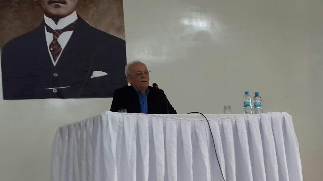 Mustafa Özçelik Kırşehir'de Mehmed Âkif'i Anlattı