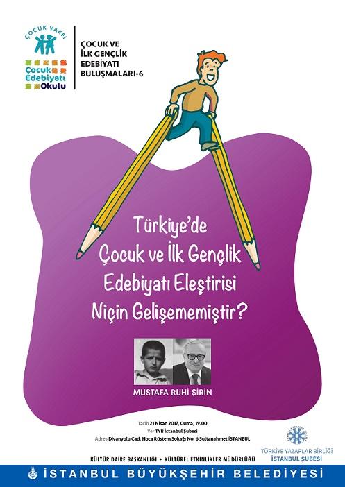 Çocuk ve İlk Gençlik Edebiyatı Buluşmaları'nda bu ay eleştiri konusu işleniyor