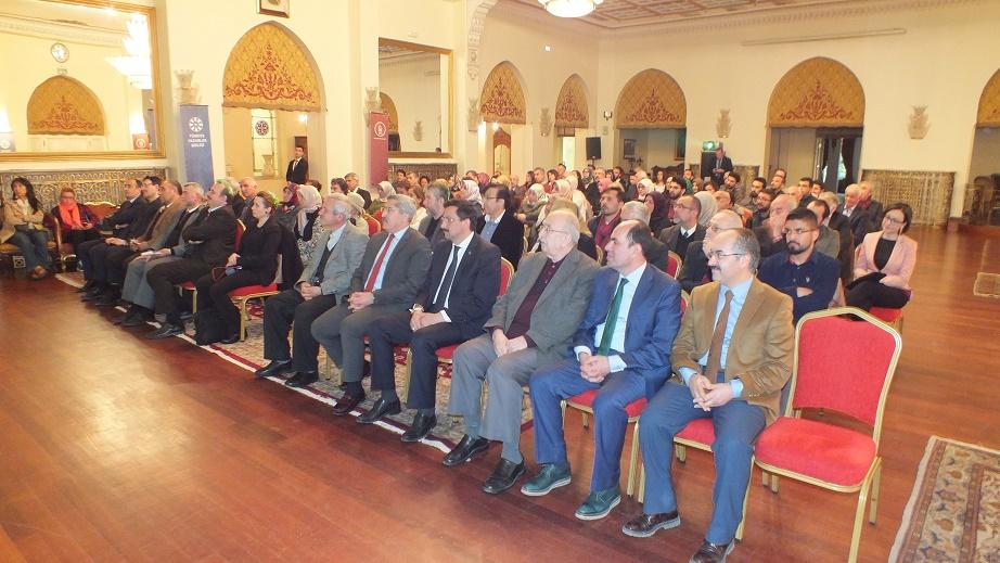 Mesnevî Okumaları Kapanış Töreni Ankara Palas'ta yapıldı