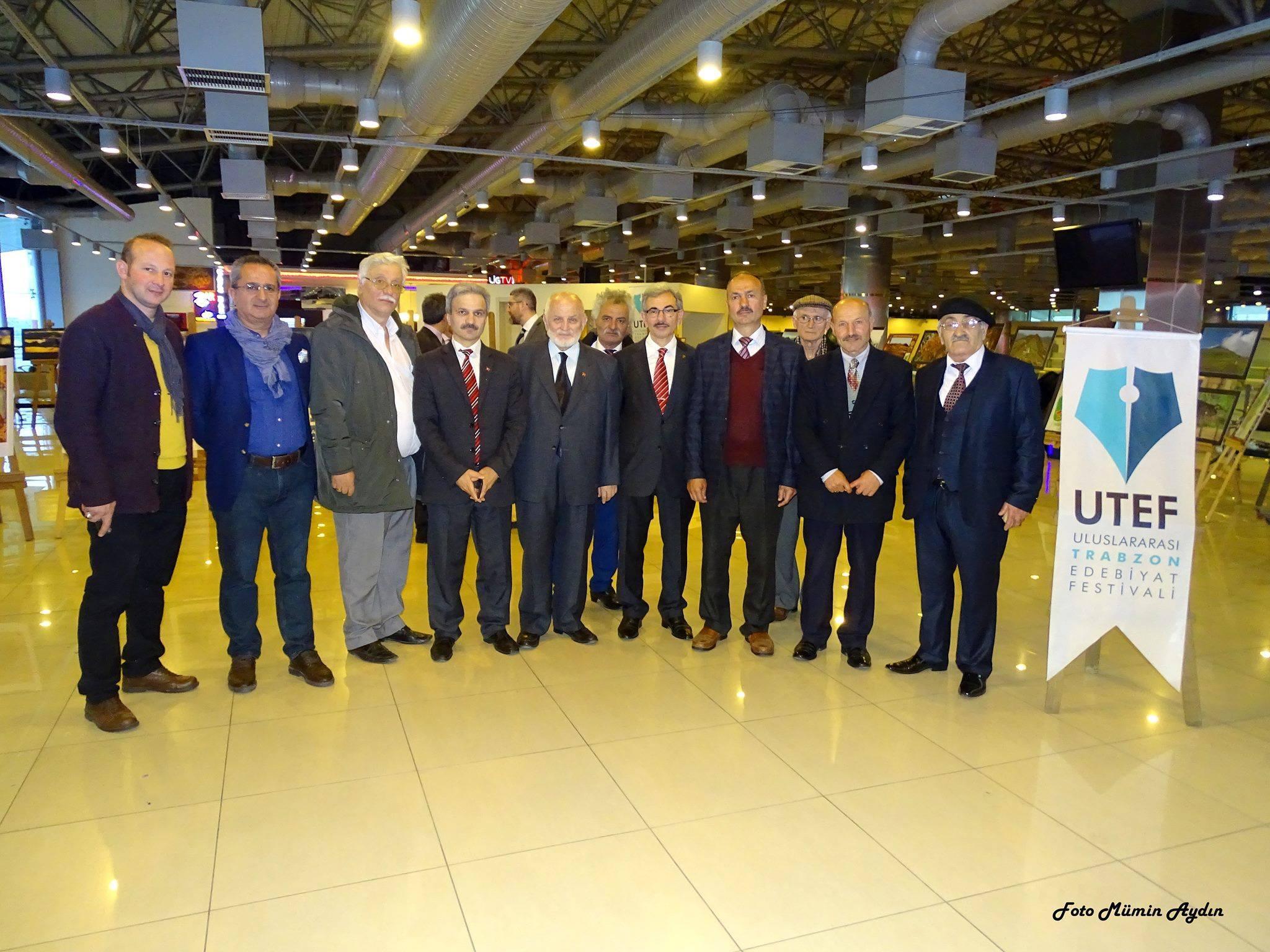 Trabzon Şubesi Uluslararası Trabzon Edebiyat Festivali'ne katıldı
