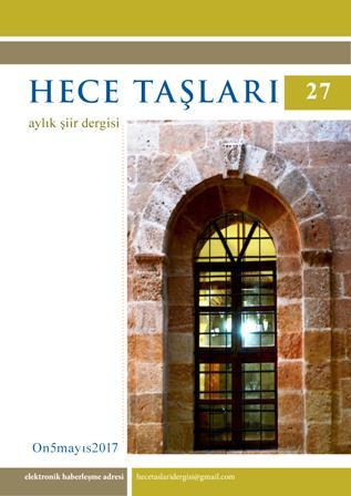 Hece Taşları Şiir Dergisi'nin 27. Sayısı