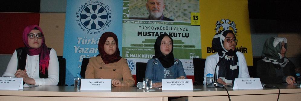 """Konya Şubesi'nde """"MUSTAFA KUTLU"""" Konuşuldu."""