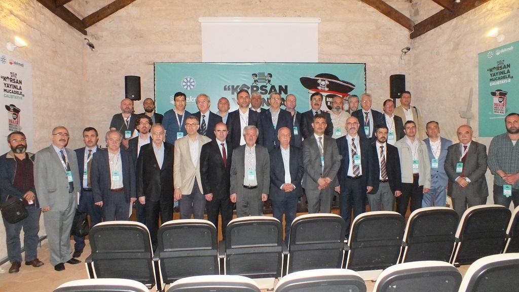 II. Korsan Yayınla Mücadele Çalıştayı Başladı