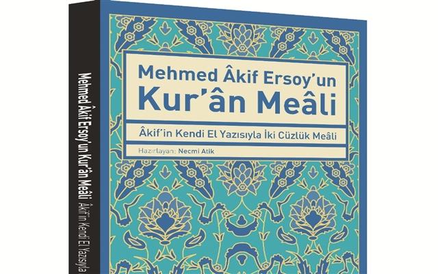 Kendi el yazısıyla Mehmet Âkif meali