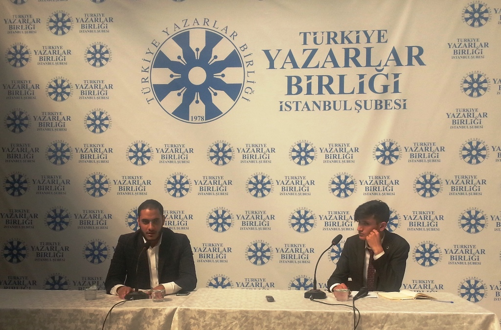 Gazzeli Kerim Alastal TYB İstanbul'da Konuştu