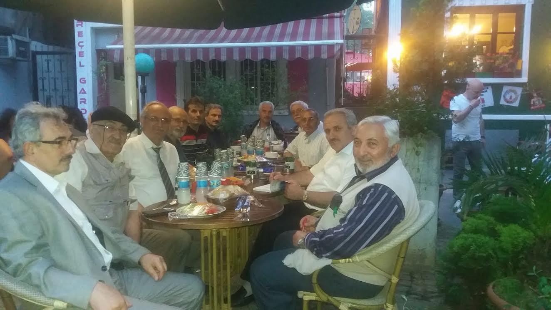 Trabzonlu yazarlar iftarda buluştu