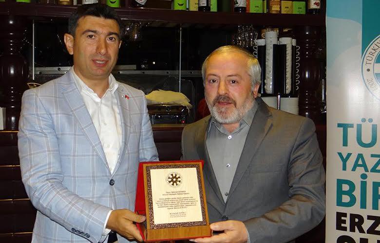 TYB Erzurum Şubesi İftarda Buluştu