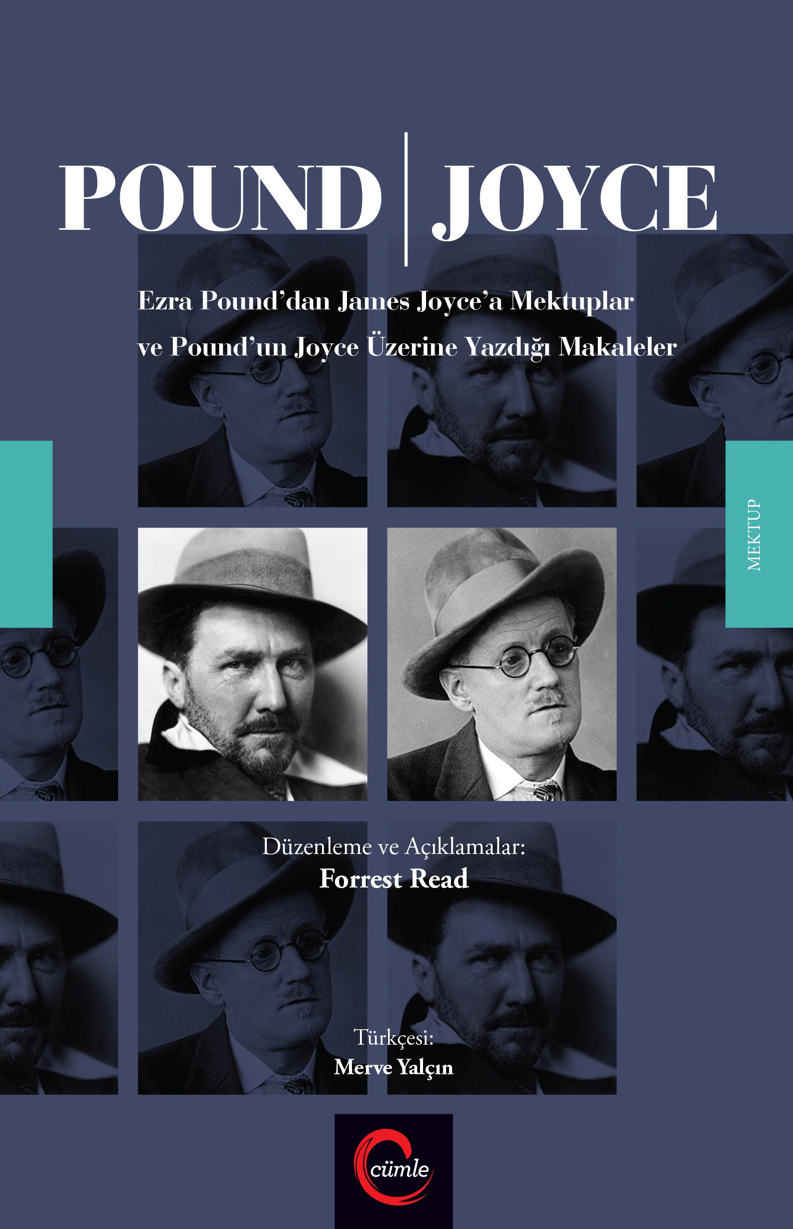 POUND / JOYCE Mektuplar ve Makaleler kitabı Cümle Yayınlarından çıktı