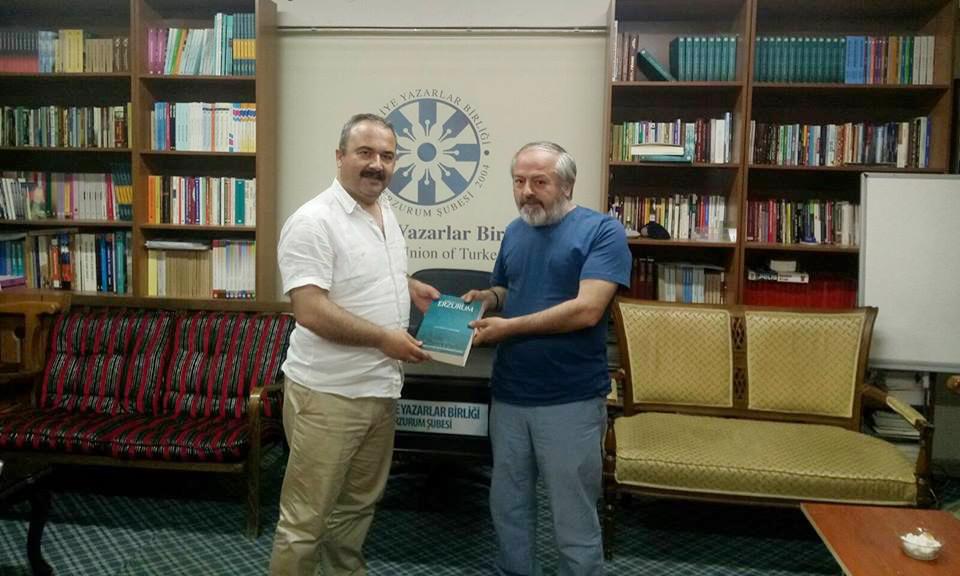 Giresun Üniversitesi Rektörü Coşkun TYB Erzurum Şubesi'ni Ziyaret Etti