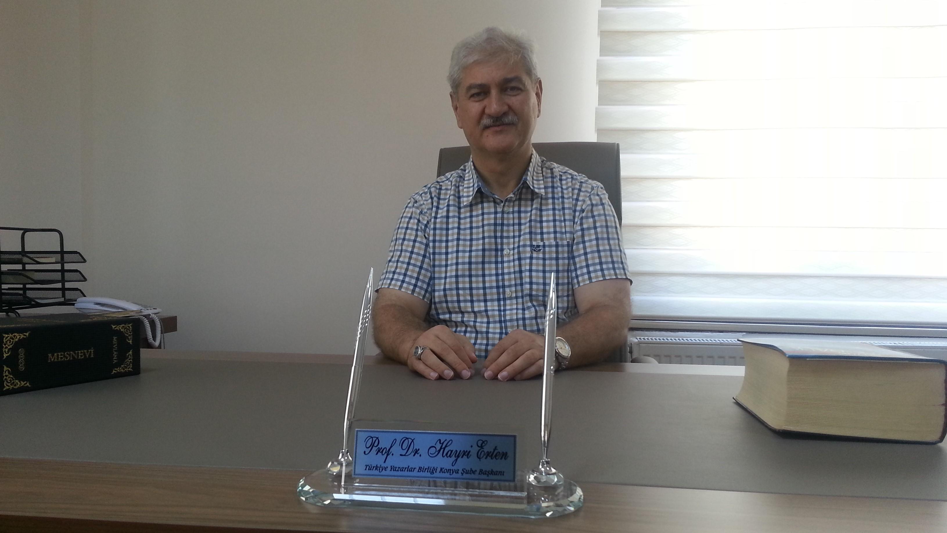 Konya Şube Başkanının Basın Bayramı Mesajı