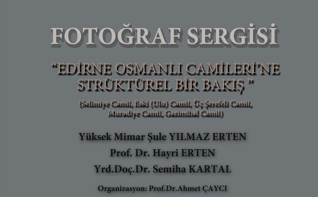 Konya Şubesinde Osmanlı Camileri Fotoğraf Sergisi