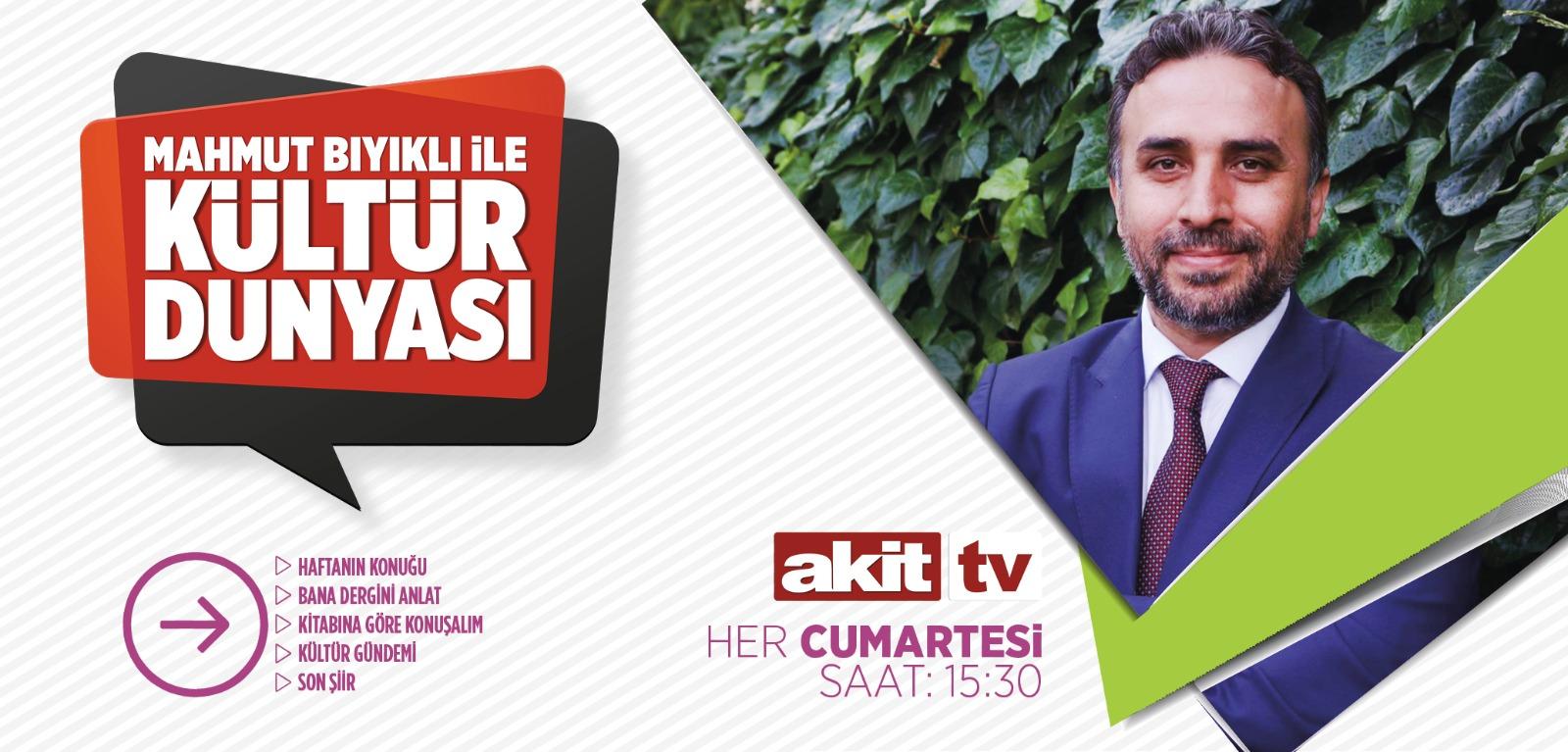 Kültür Dünyası Akit TV'de Başlıyor