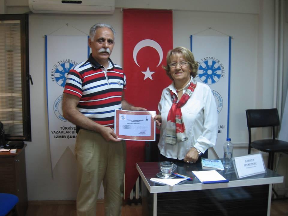 TYB İzmir Şubesi'nde Yunus Emre konuşuldu
