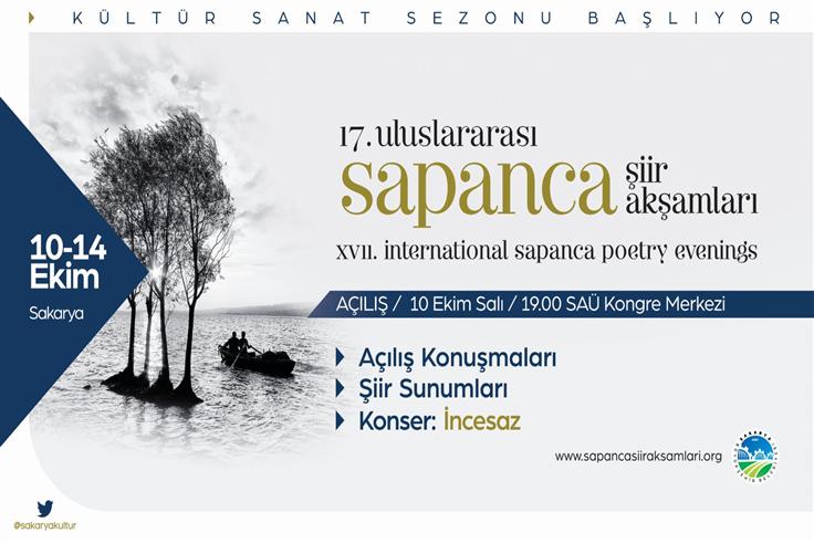 Uluslararası Sapanca Şiir Akşamları Başlıyor