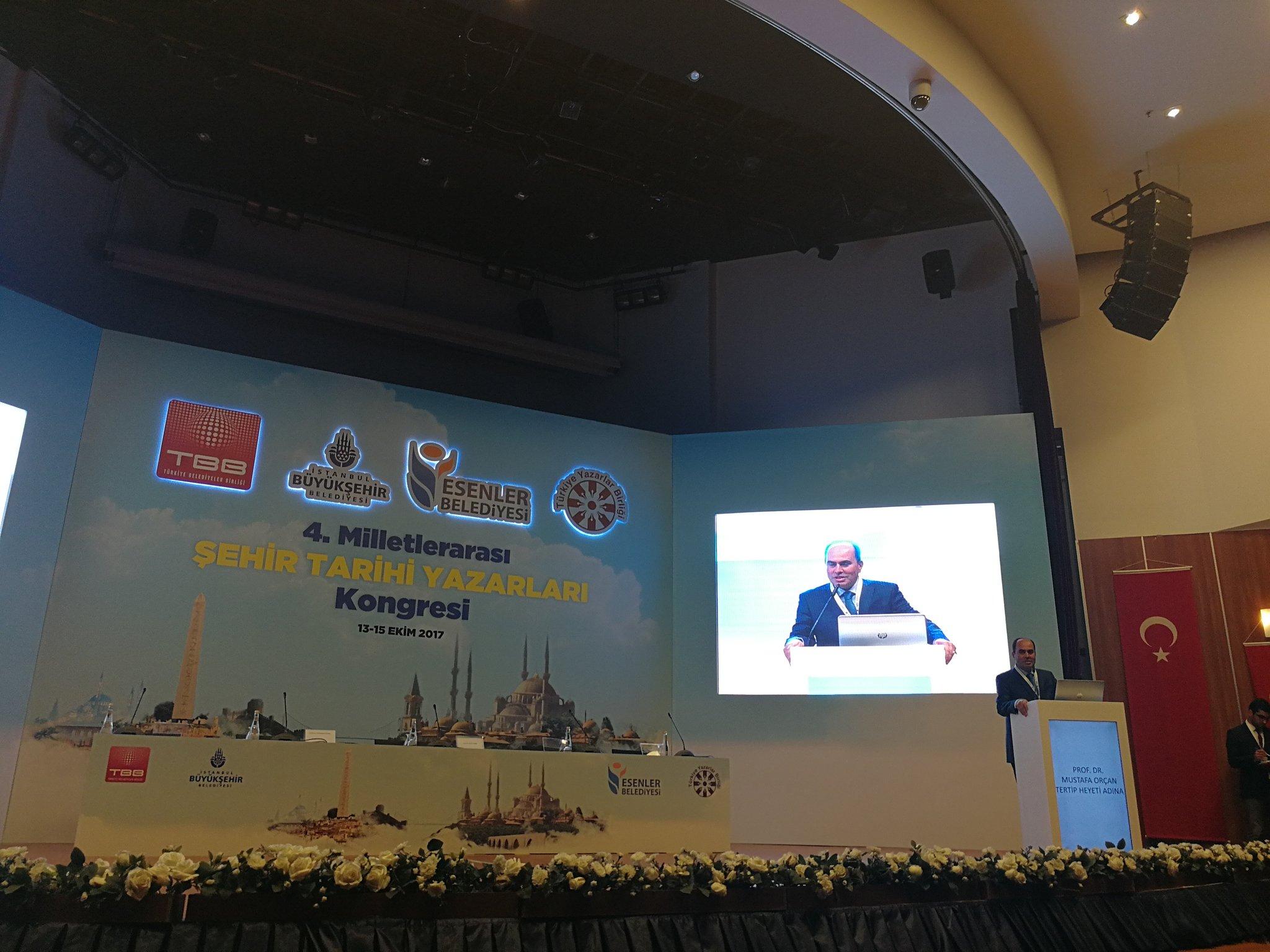 Prof. Dr. Mustafa Orçan'ın 4. Şehir Tarihi Açılış Konuşması