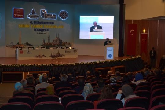 '4. Milletlerarası Şehir Tarihi Yazarları Kongresi' Açılışı Yapıldı