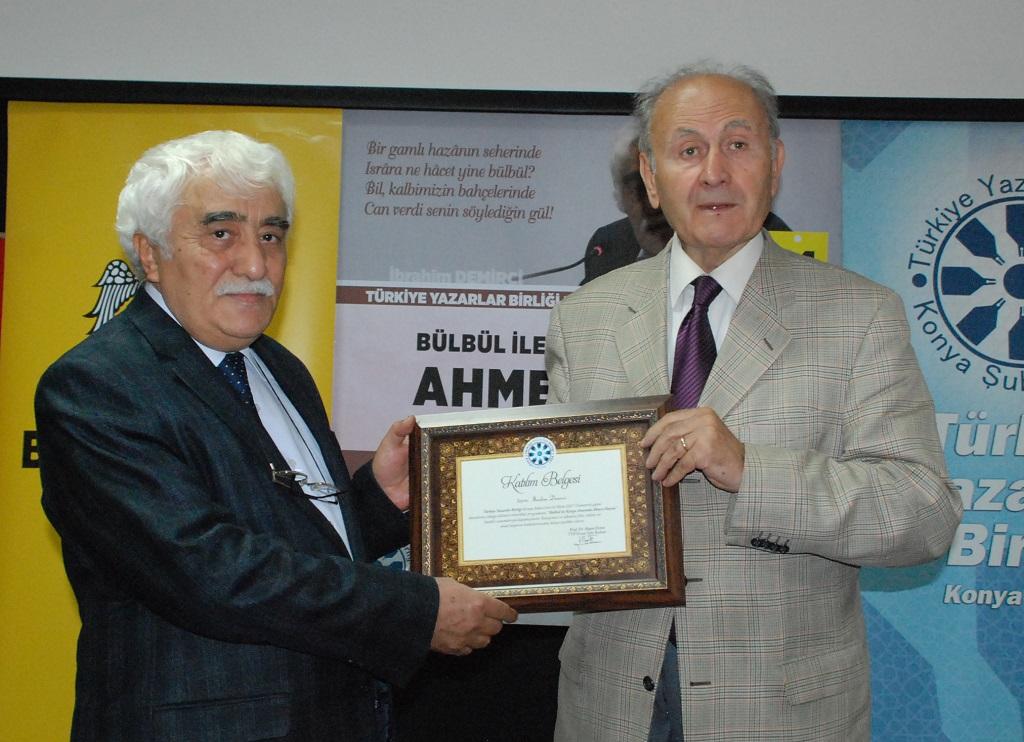 Konya Şubesinde Ahmet Haşim Konuşuldu