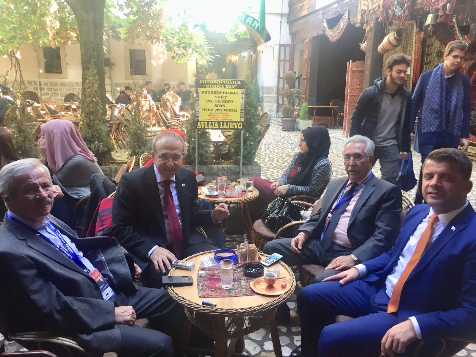 """D. Mehmet Doğan: """"İslâmın Uç Beyi Aliya""""nın memleketinde"""