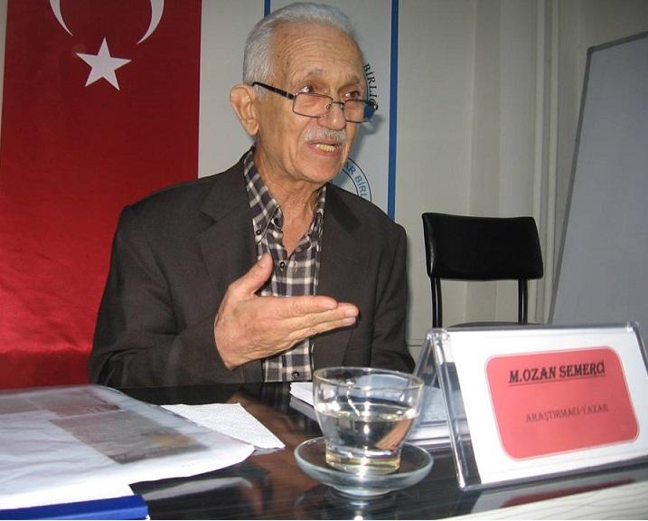 İzmir Şubesinde Araştırmacı Yazar  M.Ozan Semerci Sohbeti