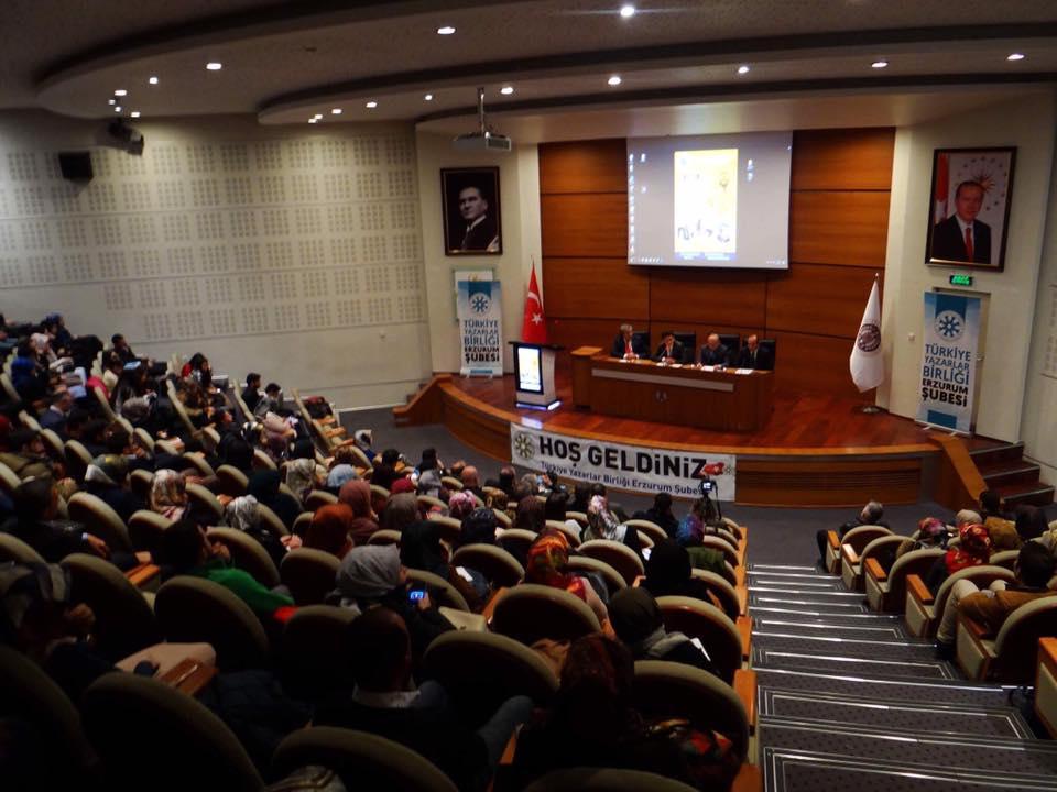 """Erzurum Şubesinde """"Nurettin Topçu ve Maarif Davamız"""" Paneli Düzenledi"""