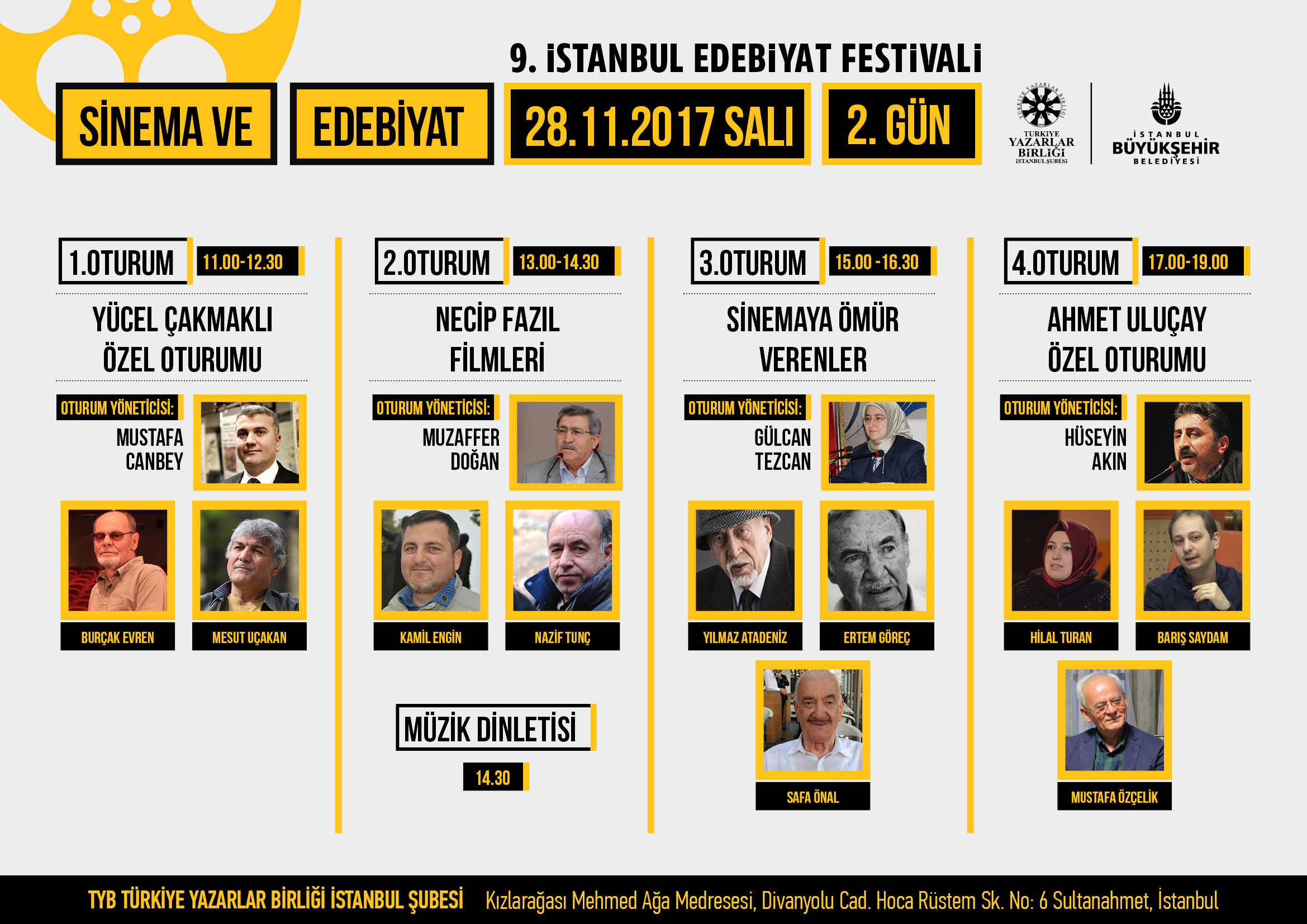 9. İstanbul Edebiyat Festivali'nin İkinci Günü Yine Dopdolu