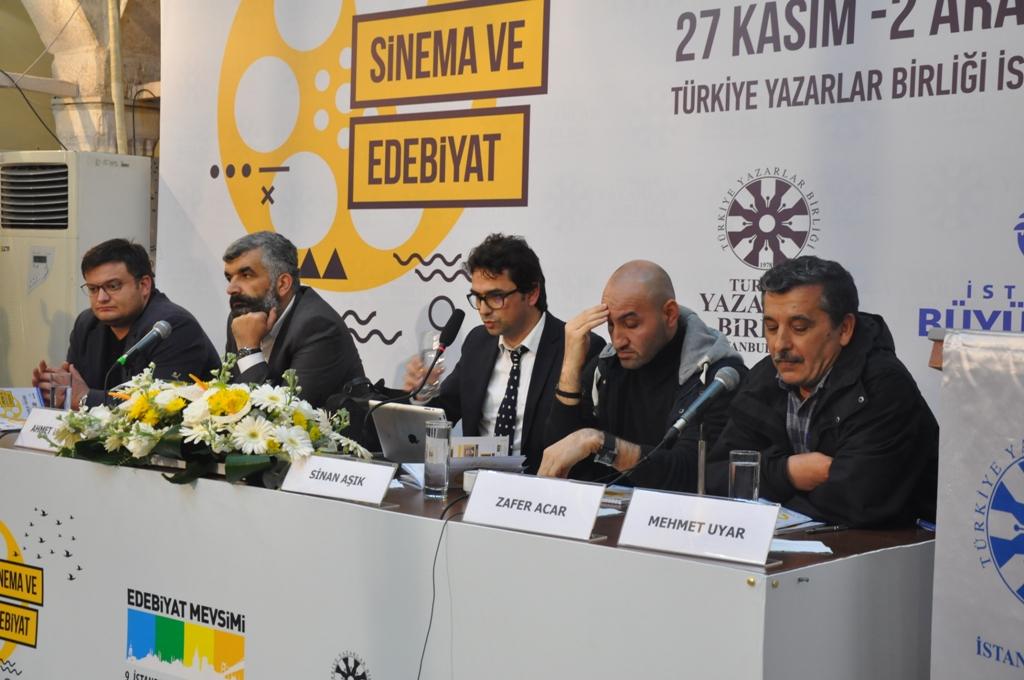 9. İstanbul Edebiyat Mevsimi'nin İlk Günü Dopdolu Geçti